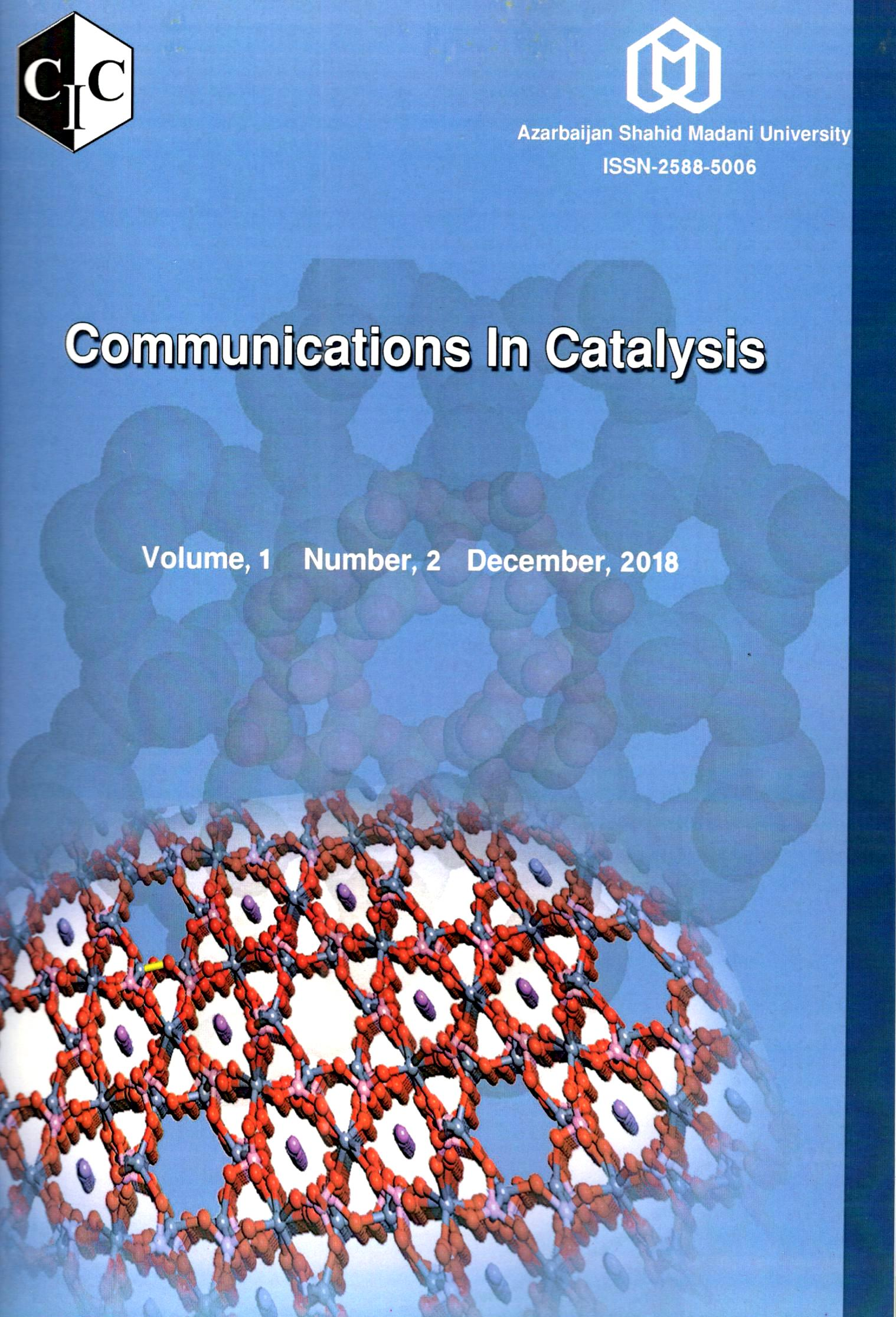 Communications In Catalysis